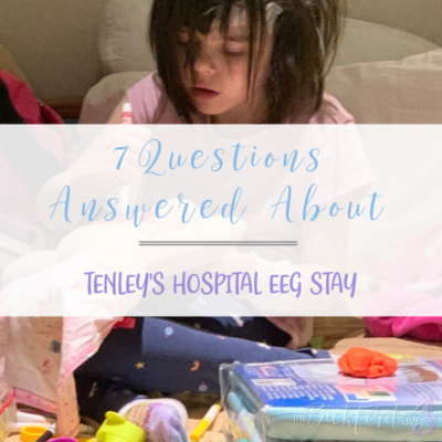 Tenley's Hospital EEG Stay