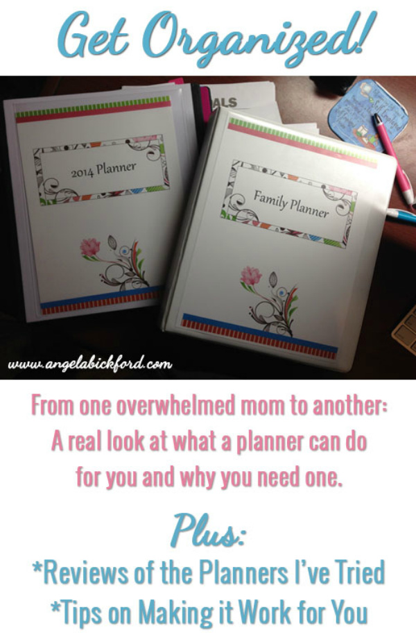 Get Organized! Reviews of Planners I've Tried + My Top 10 Tips